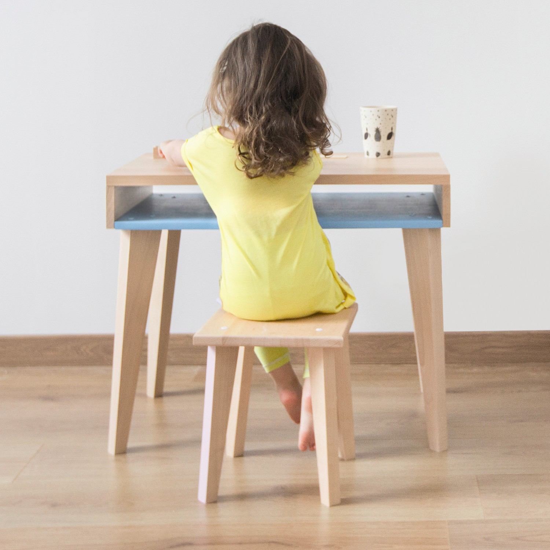 Bureau fille en bois