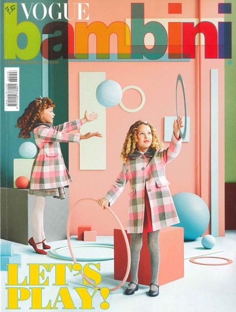 Parution Vogue Bambini