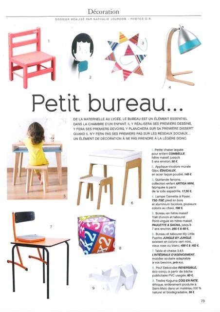 Bureau enfant dans Mag in France
