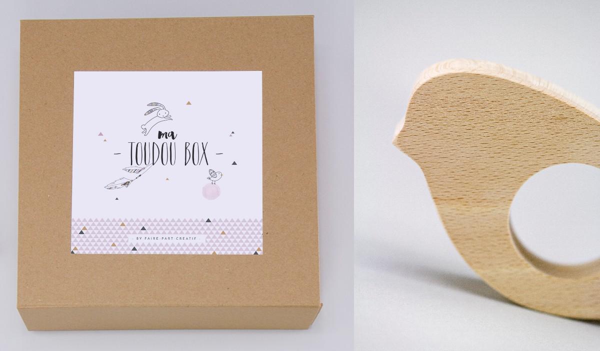 box cadeau naissance faire part