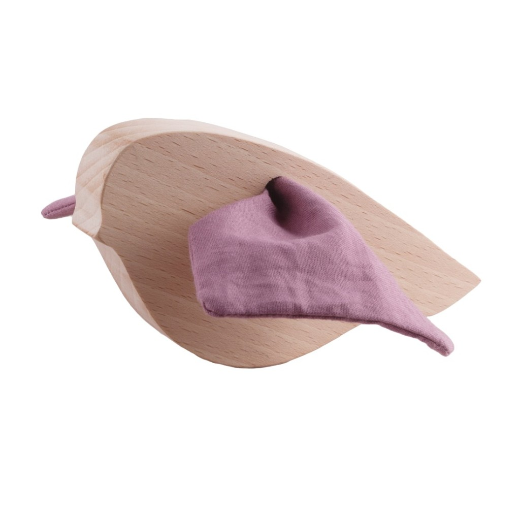oiseau en bois pour enfant