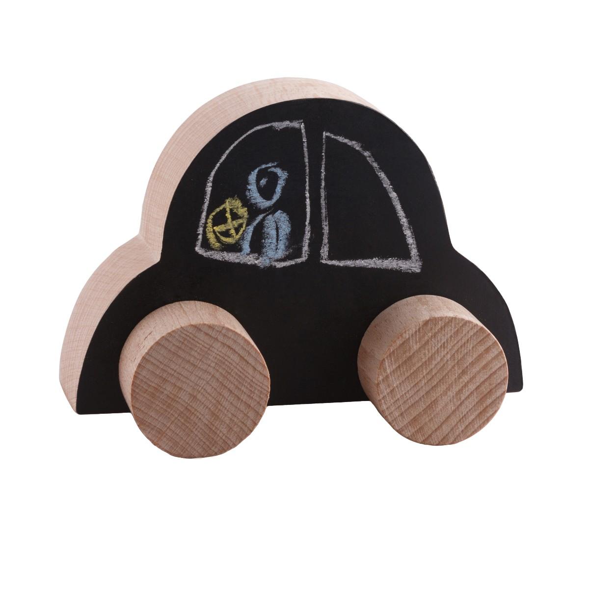 Voiture bébé en bois