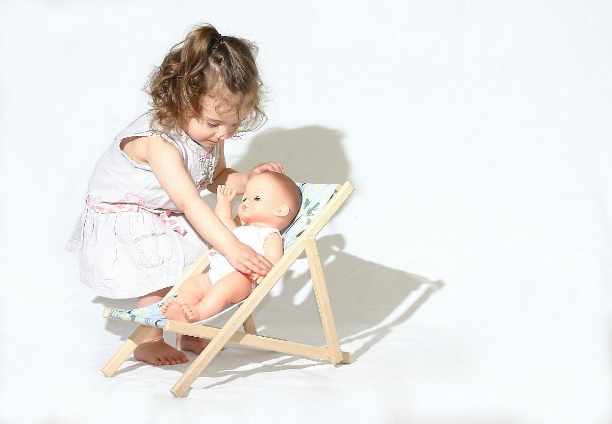 Chaise longue barbie