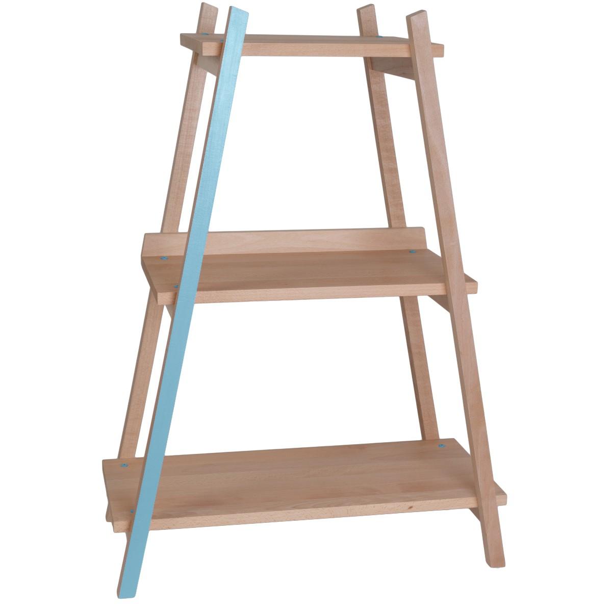 Rangement en bois pour chambre d'enfant