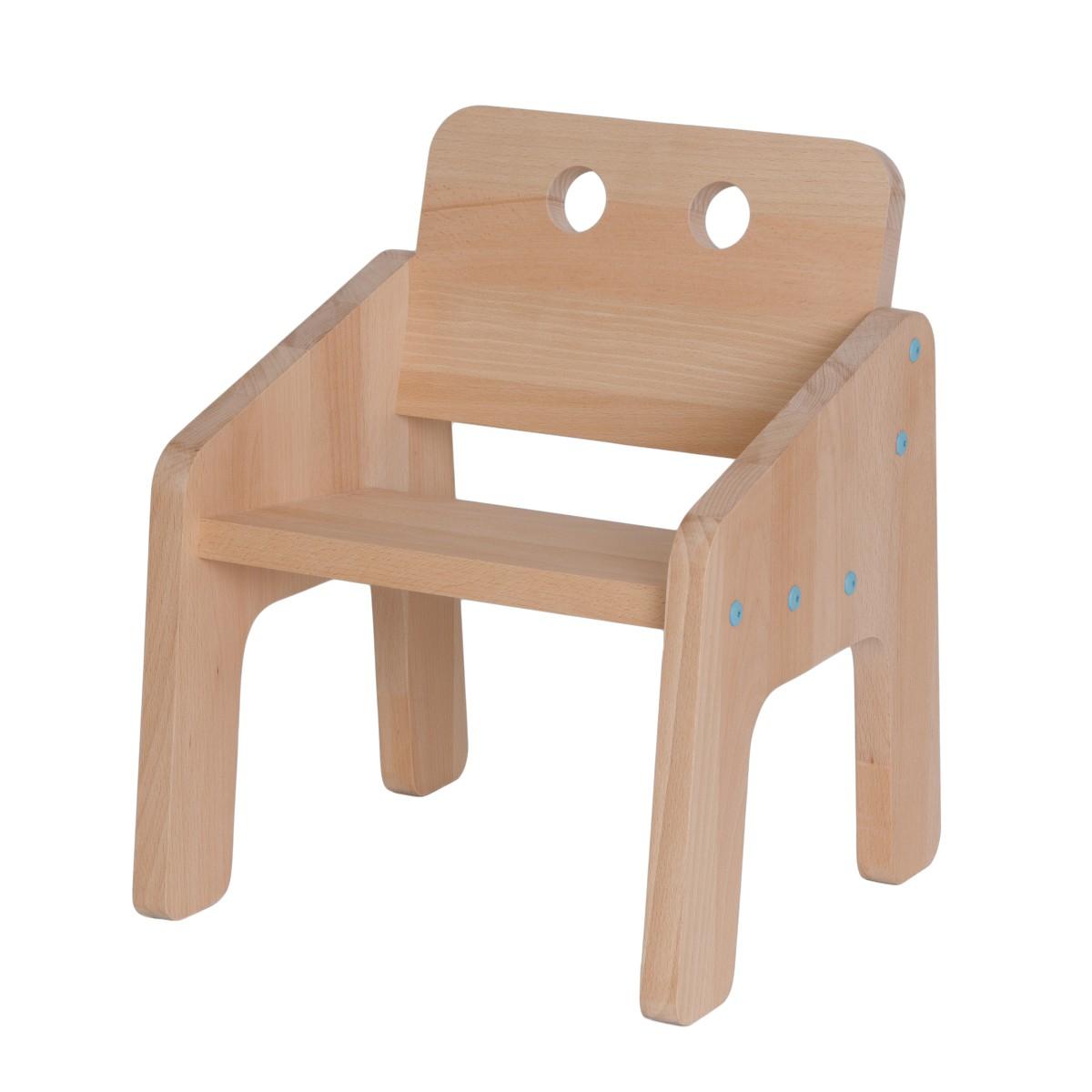 Assise en bois pour enfant