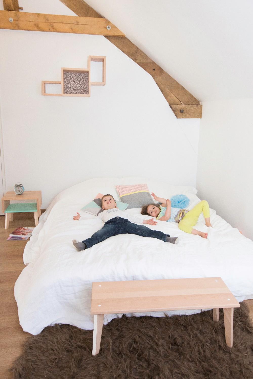 Chambre enfants mobilier en bois