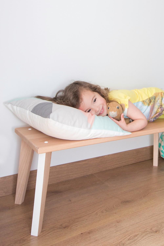 Banc enfants mobilier en bois