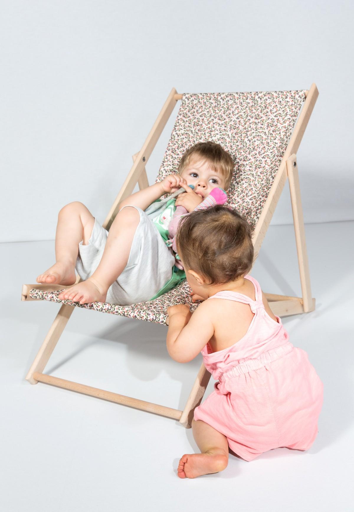 Chaise longue enfants