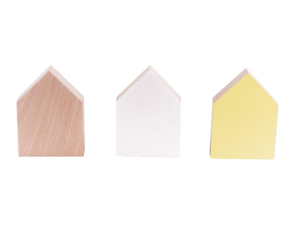 Patères design jaune