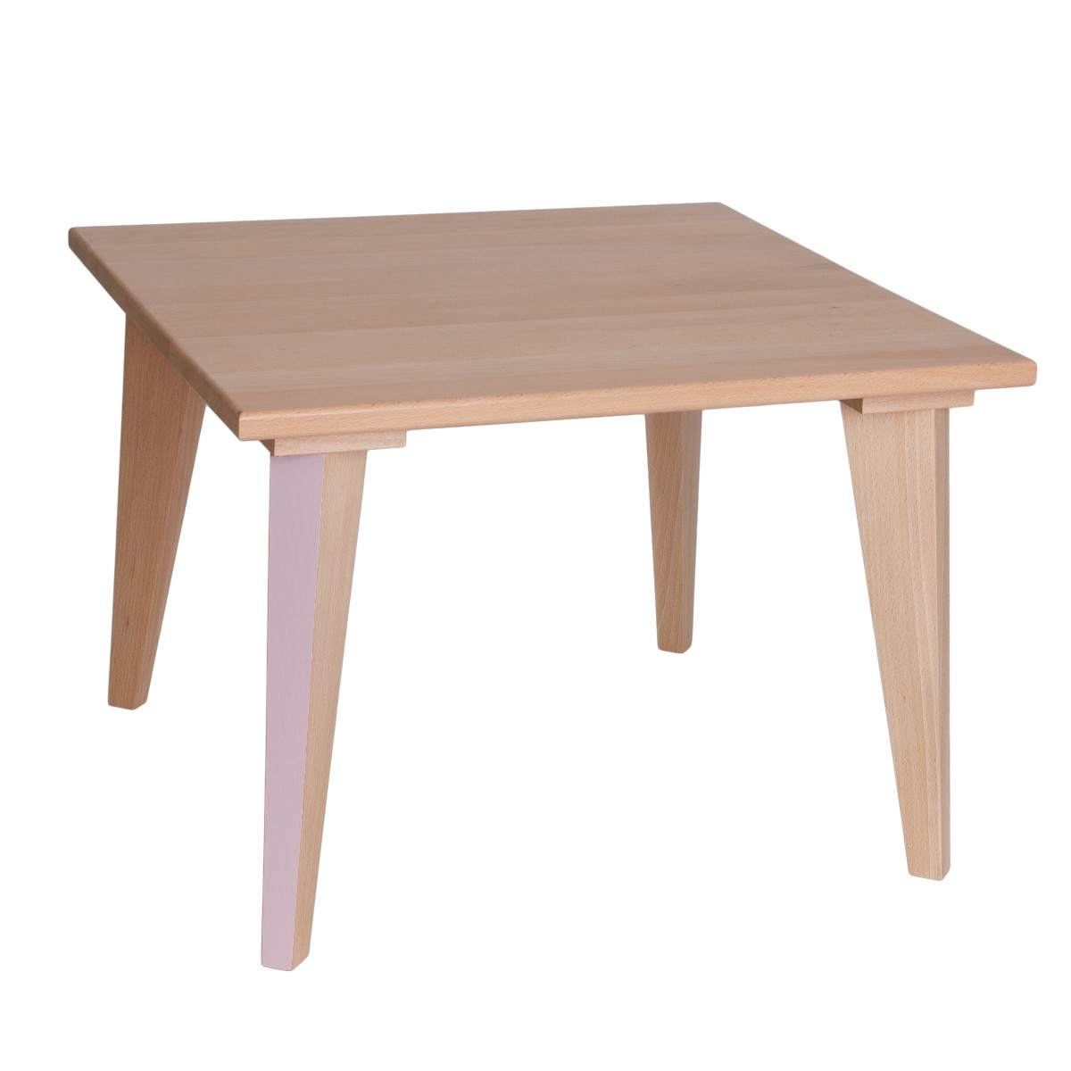 Table basse mini boudoir rose p le paulette sacha for Table basse et haute a la fois