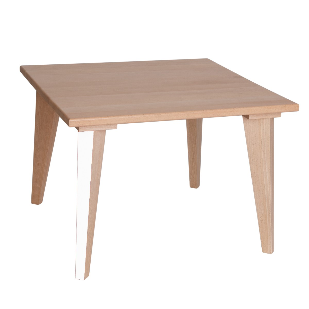 Table basse mini boudoir blanc loft paulette sacha for Table basse et haute a la fois