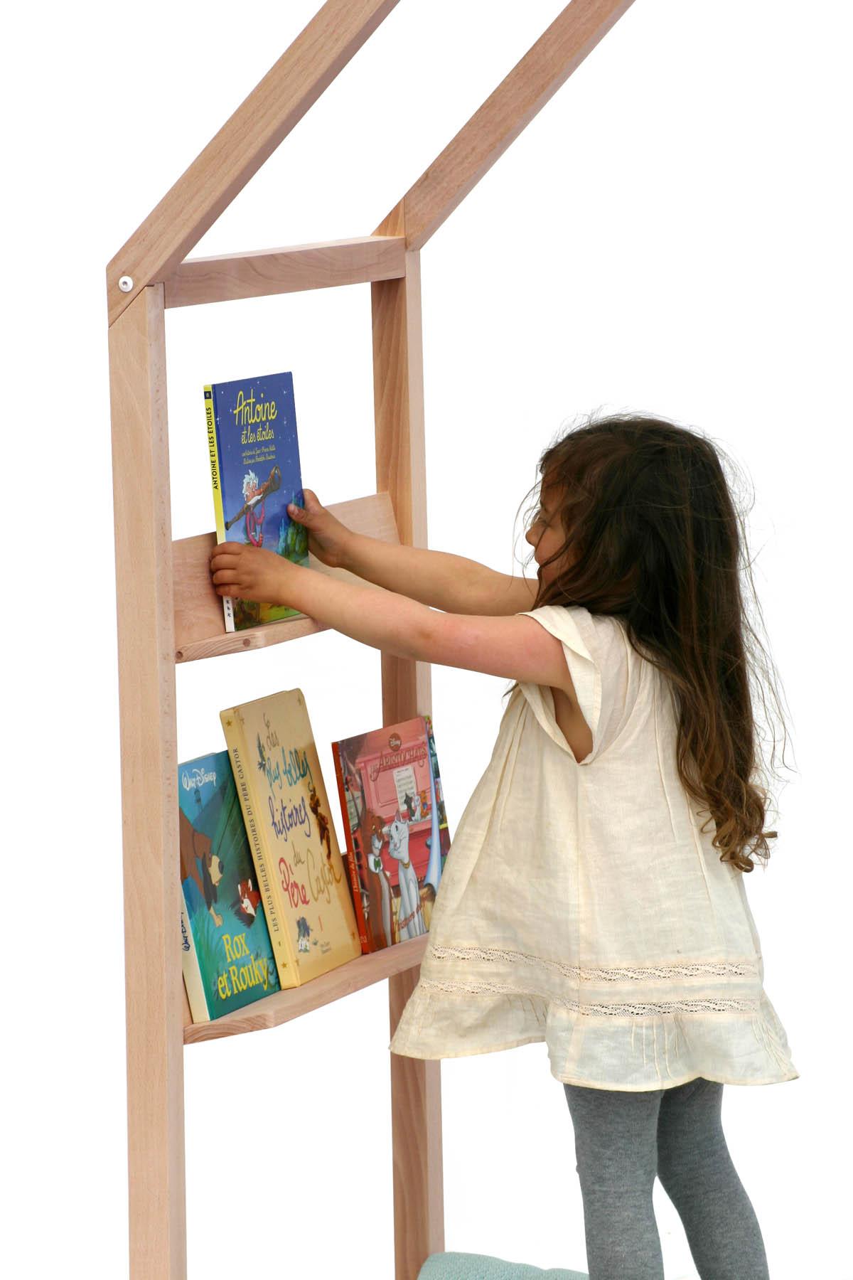 bibliothèque étagère enfant bois