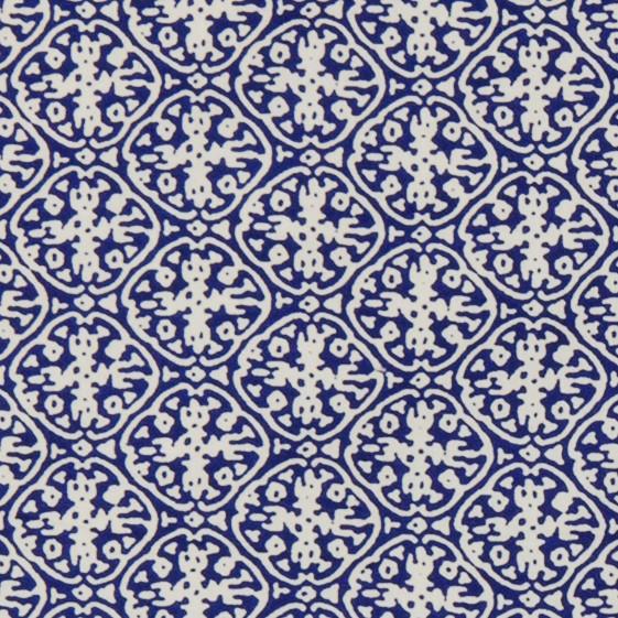 Motif ornement bleu