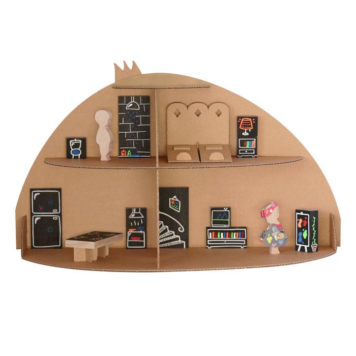 maison de poupee et mobilier