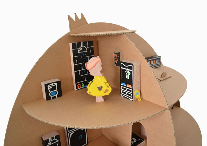 Zoom maison poupée hacienda